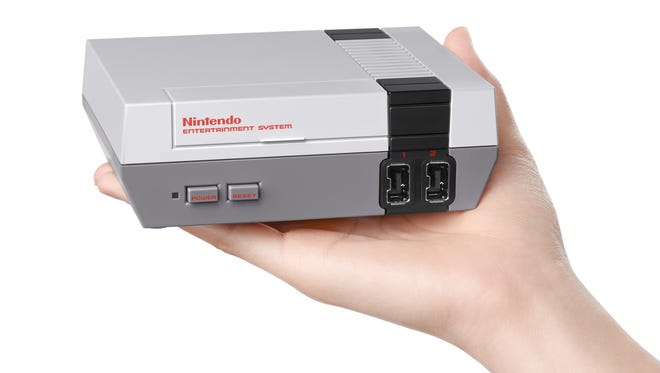 The Nintendo Entertainment System: NES Classic Edition, launching Nov. 11, 2016, for $59.99.