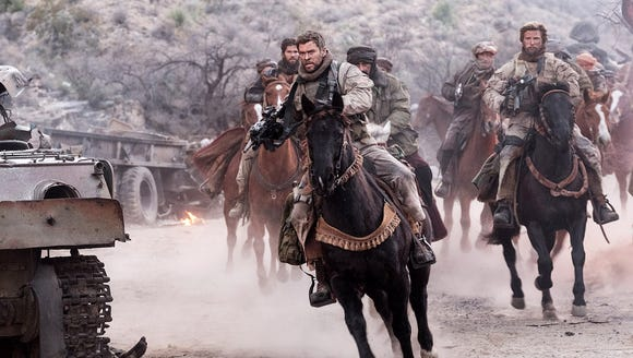 Chris Hemsworth, as Capt. Mitch Nelson, leads the charge