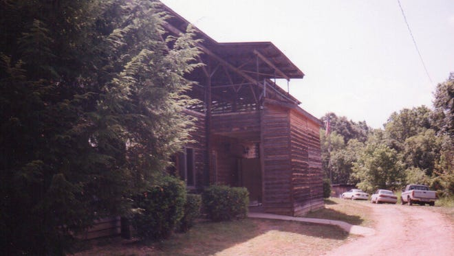 Wood siding was also added to the main building at Lylewood Christian Camp.