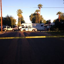 Phoenix police shot and killed a man near 15th Avenue and Bethany Home on Sept. 1, 2014 after officers said the man shot at police.