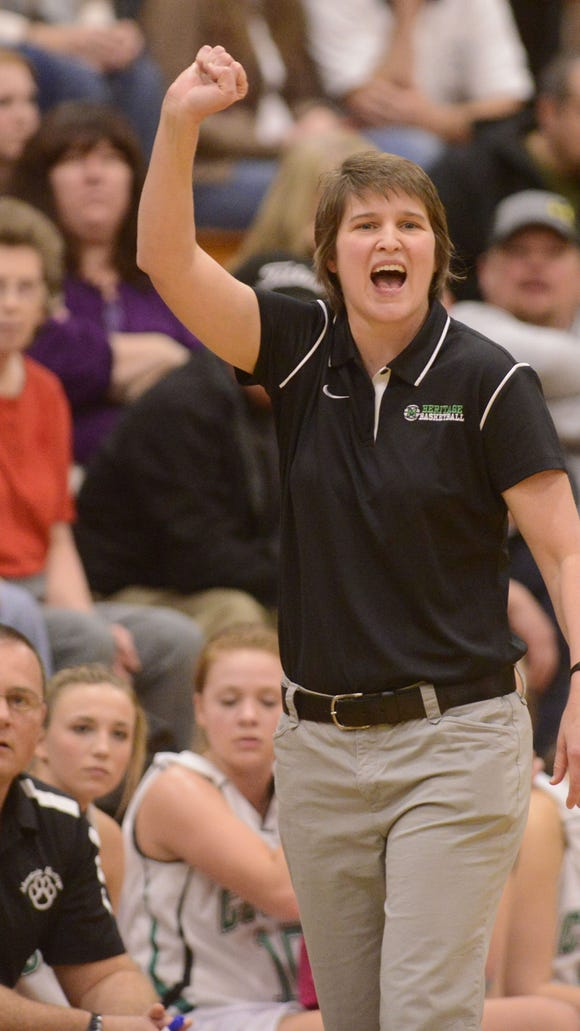 Susie Shelton has been the girls basketball coach at Mountain Heritage since 1999.