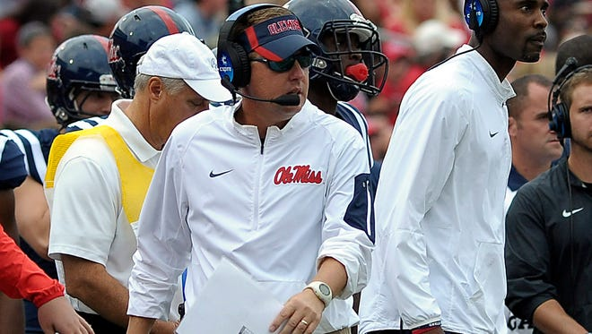 """The Ole Miss Rebels head into the second half of the season a """"beat-up team."""""""