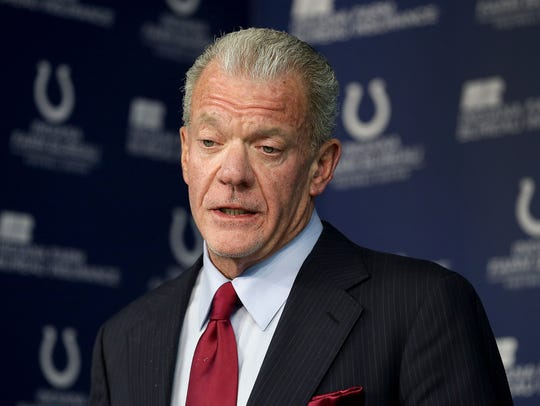"Indianapolis Colts owner Jim Irsay caused some controversy when he said the NFL players' sideline protest were ""the wrong venue."" ""It hasn't been a positive thing,"" he said."