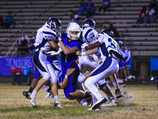 WCA Football North Central win sara harsell broussard