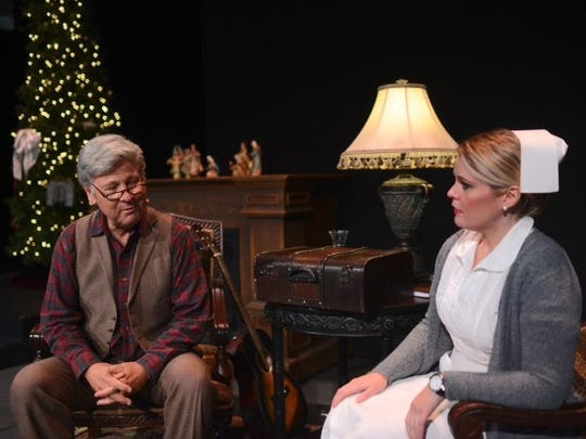 "Uncle John, played by ""The Forgotten Carols"" creator, Michael McLean, and Constance are the two characters at the center of the story."