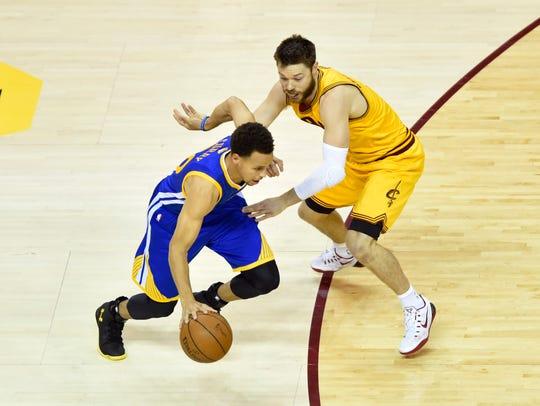 Jun 11, 2015: Golden State Warriors guard Stephen Curry