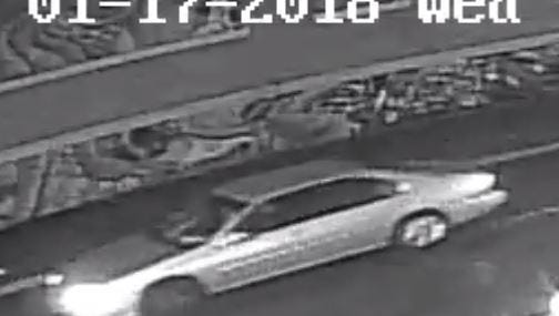 The Hudson County Prosecutor's Office asked for the public's help finding a sedan and the driver believed to have fatally struck a woman in Jersey City Jan. 17, 2018.