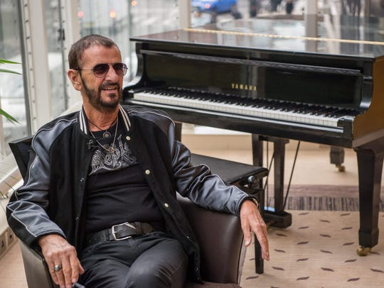 Ringo Starr on Sept. 14, 2017 in London.