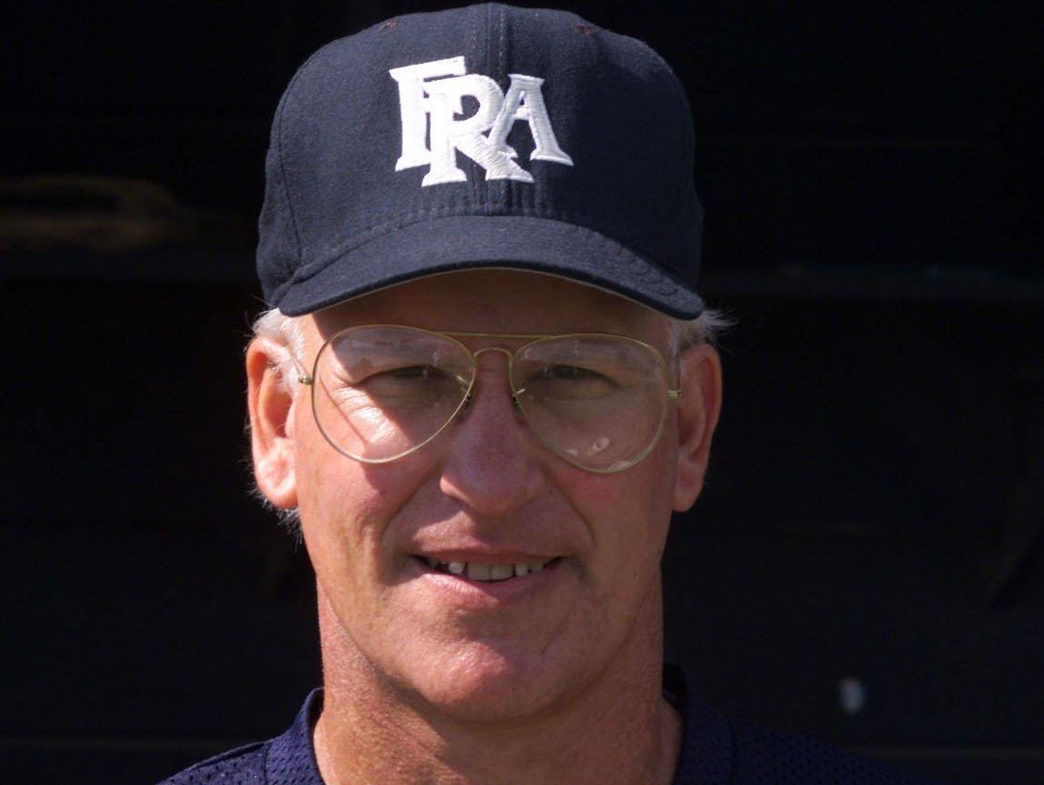 Former FRA baseball coach George Weicker