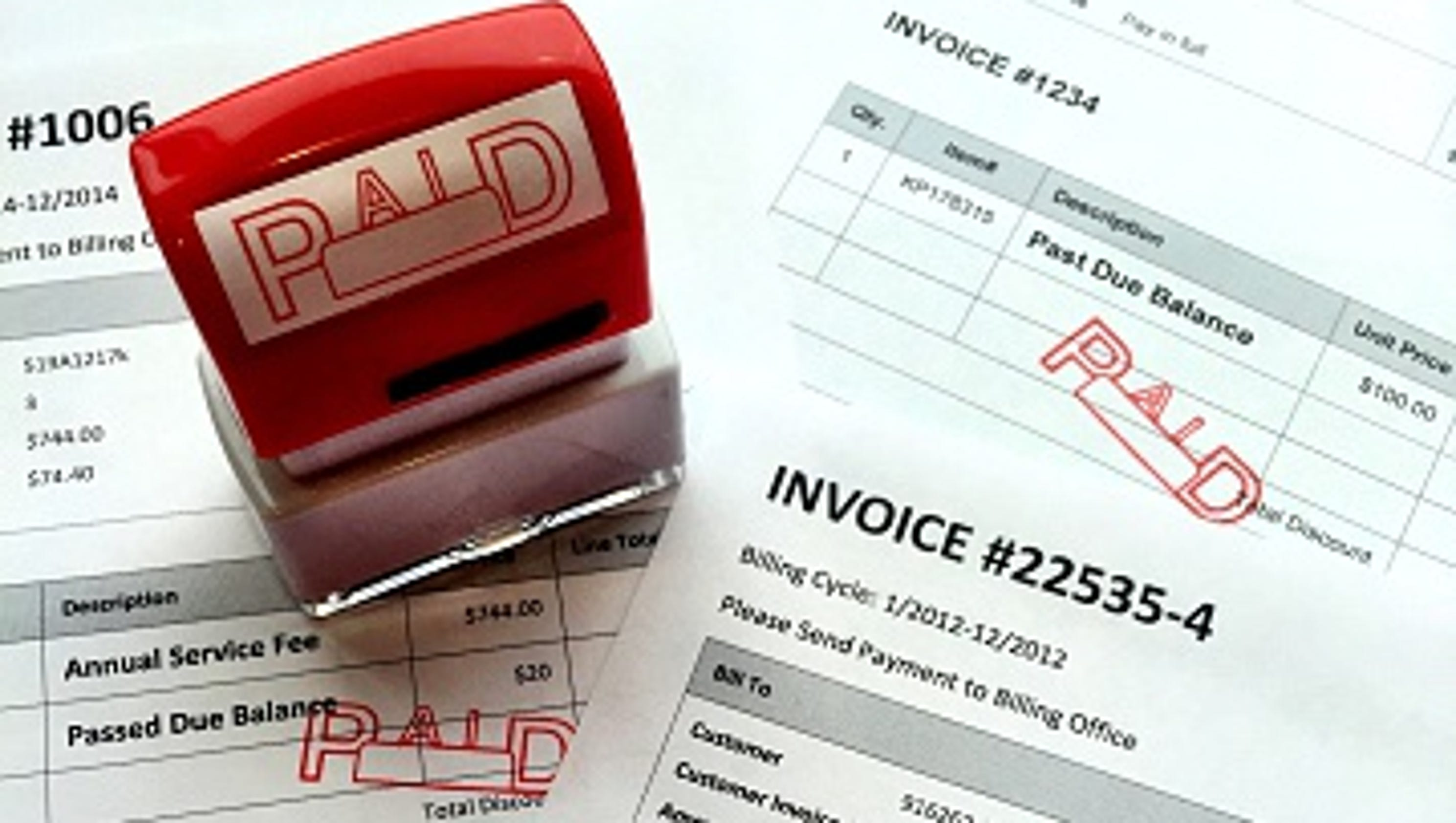 Printer Glitch Causes Hazlet Sewer Bill Issues - Tophatter com invoices