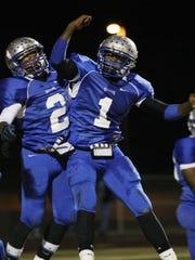 Fort Campbel running back JD Ervin and quarterback