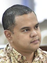 Sen. Dennis Rodriguez, D-Dededo