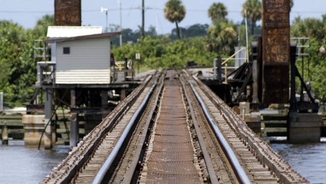 Virgin Trains USA said Friday it would replace the single-track railroad bridge over the St. Lucie River with a double-tracked span for its 32 daily passenger trains as well as Florida East Coast Railway freight trains.