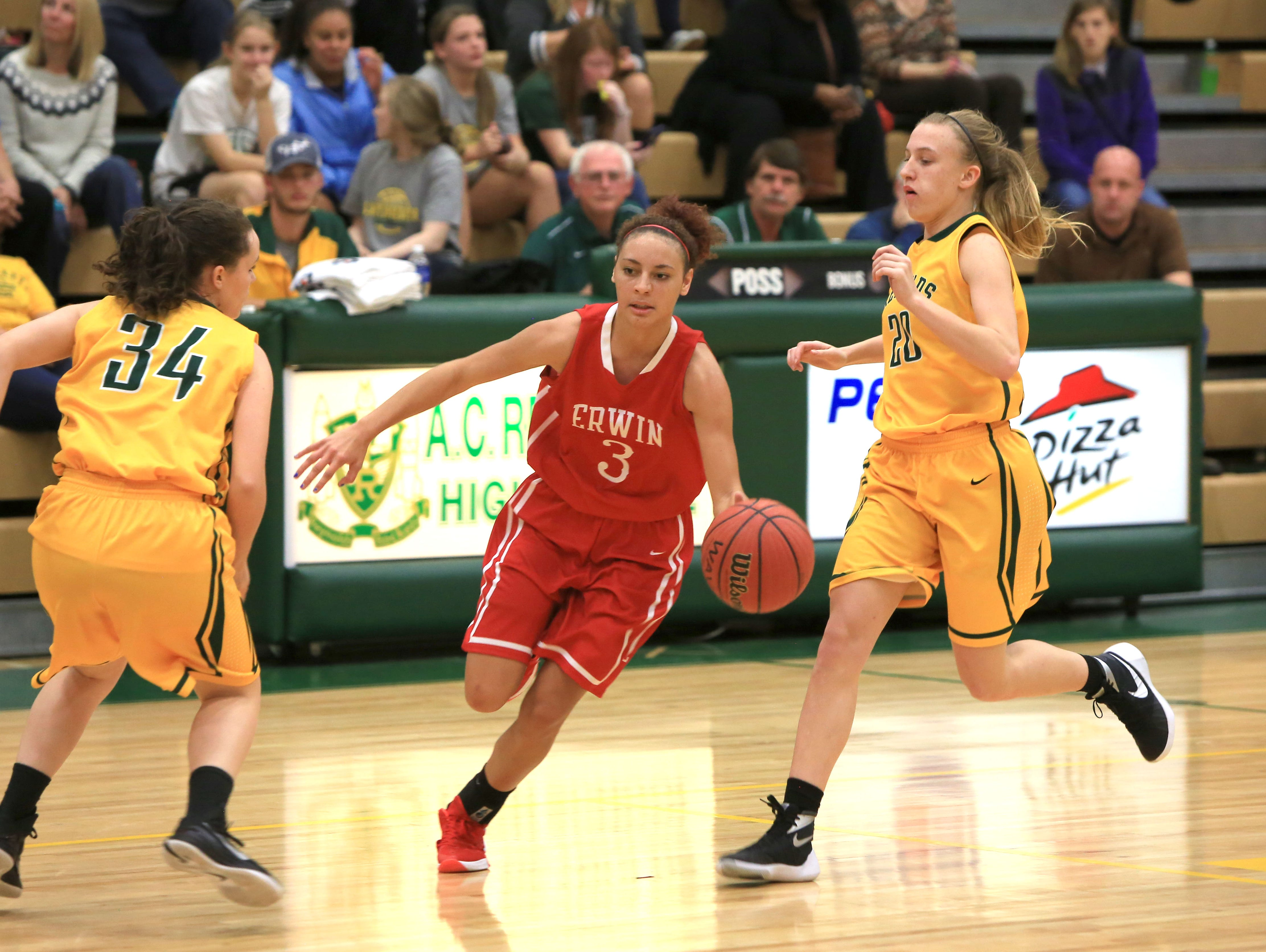 Erwin's Kendra Griffin was the top scorer for the Warriors on Saturday at Rabun Gap (Ga.).