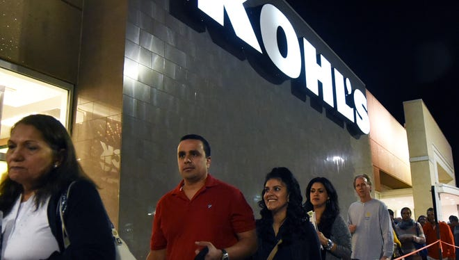 Like in past years, Kohl's is opening on Thanksgiving, getting an early start on Black Friday.