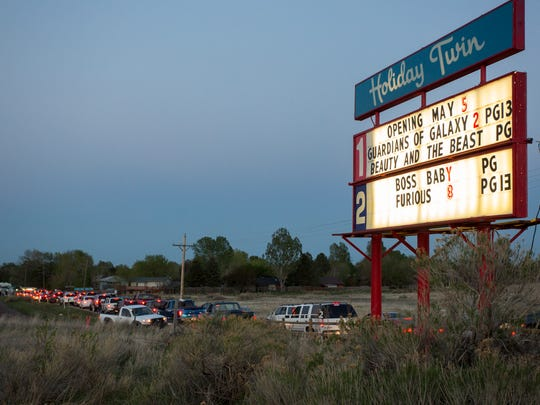 Holiday Twin drive-in closing for season this weekend