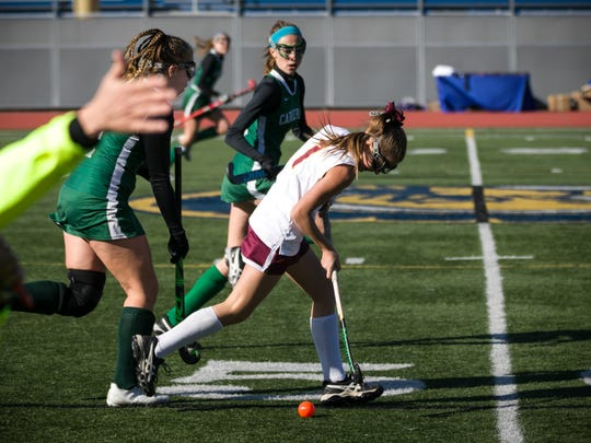 Whitney Point's field hockey team earned a 1-0 victory