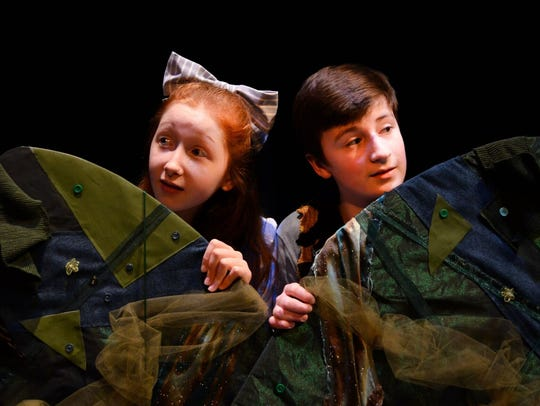Molly (Sophie Eldridge) and Boy (Julian Mudge-Burns)