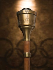 The 1984 Summer Olympics torch that Caitlyn Jenner,