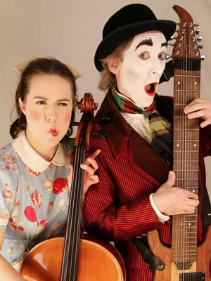 """The Washington, DC-based Dr. Dour and Peach are making their Cincinnati Fringe Festival debut with """"The Monster Songs,"""" a family-friendly show that promises """"never-before-told tales of lovesick mummies, giant lizards, bargain-hunting zombies, and other hapless creatures of the night in a cabaret cocktail of original songs."""""""