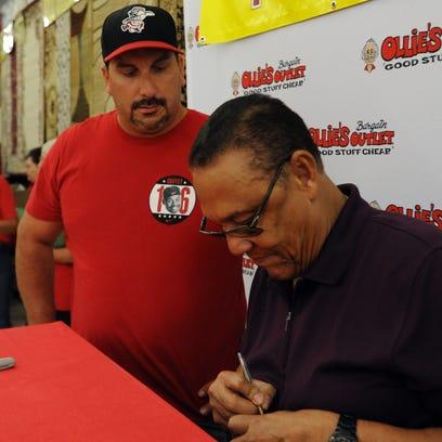 Tony Perez, a Major League Baseball Hall of Famer who