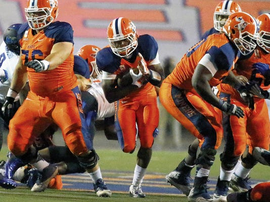 UTEP running back Aaron Jones has been named to the prestigious Maxwell Award preseason watch list. The award is annually given to college football's best player.