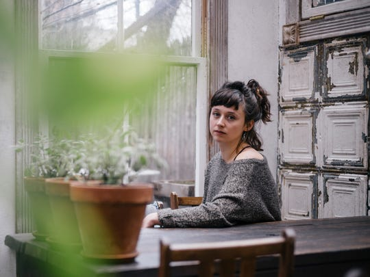Waxahatchee, aka Katie Crutchfield, performs Saturday at the Waking Windows festival in Winooski.