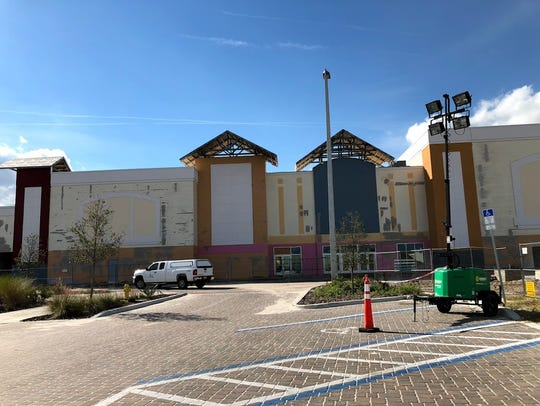 The Epic Theatres movie theater is still under construction,