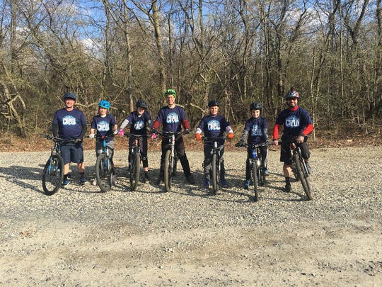 Members of Camden County MTB Crew: Coach Jim Williams