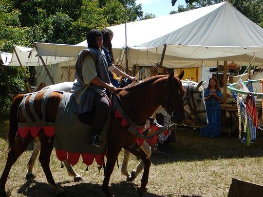Scenes from the White Hart Renaissance Faire in Hartville.