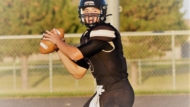 Maize South quarterback Colin Shields has thrown for 469 yards and seven touchdowns in leading the Mavericks to a 2-0 mark and No. 5 ranking in Class 5A.