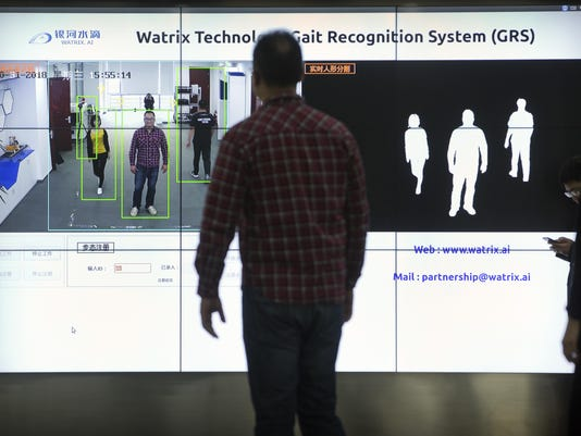 China Gait Recognition