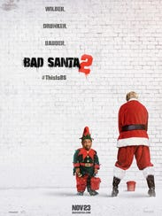 """The poster for """"Bad Santa 2."""""""