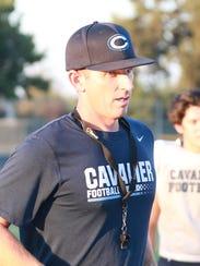 CVC coach Mason Hughes is entering his eighth year
