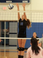Margot Seidel of Highlands comes up with a block for