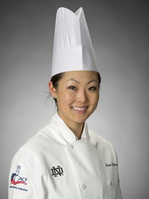Laura Johnson-Lachowecki, originally of New London, was named pastry chef of the year by the American Culinary Federation.