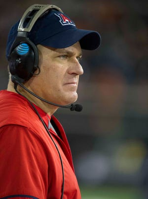 "The lawsuit against Arizona football coach Rich Rodriguez seeks $230,050 in ""past due fees."""