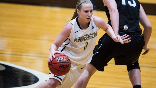 Anderson University's Heather Jankowy, a Walhalla native, scored six points and fouled out in the 83-66 loss at Carson-Newman.
