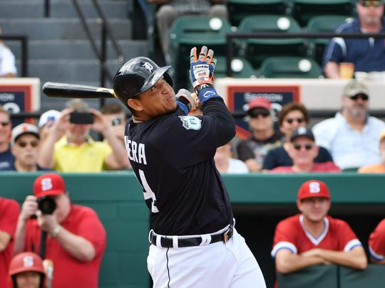 Miguel Cabrera and the Tigers hope to improve on their 4-14 record against the Indians last season.