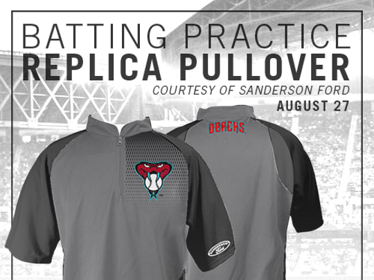These replica jerseys will go to the lucky first 20,000 fans in the park on Aug. 27.