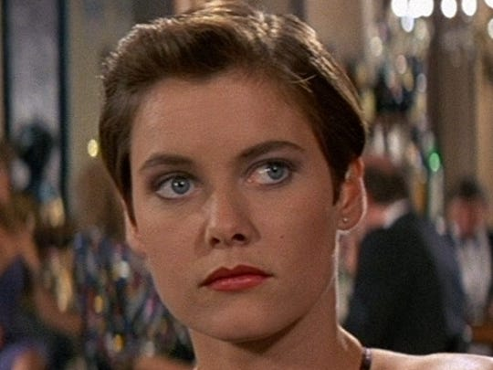 "Carey Lowell starred as Pam Bouvier in ""Licence to Kill."""