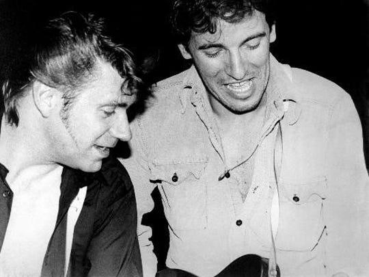 Sonny Kenn (left) and a famous friend.
