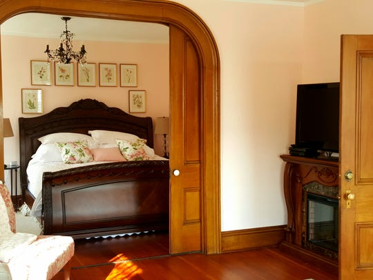 The Elizabeth suite in the Lamberson Guest House has
