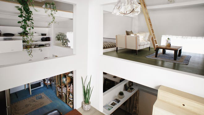 """This photo provided by The Monacelli Press shows """"House T,"""" designed by Hiroyuki Shinozaki Architects/Tokyo, in Tokyo."""