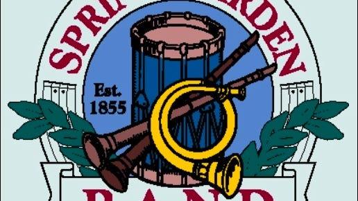 Crest of the Spring Garden Band (From Spring Garden Band web site http://www.springgardenband.org)