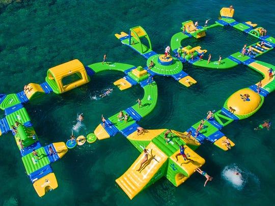 Nashville Shores' Aqua Park