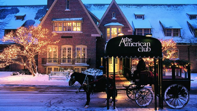The American Club in Kohler has a Celebration of Chocolate planned in February.