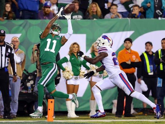 Nov 2, 2017; East Rutherford, NJ, USA; New York Jets