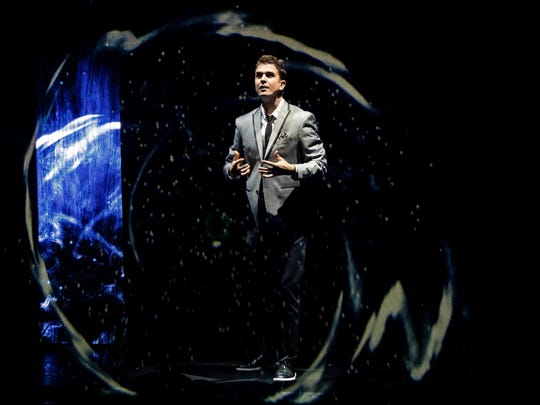 Magician Adam Trent uses today's technology to help