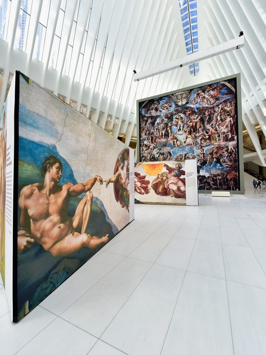 Michelangelo's Sistine Chapel at Oculus Plaza